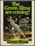 "Movie Posters:Science Fiction, The Green Slime (MGM, 1969). Poster (30"" X 40""). Science Fiction....."