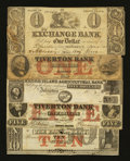 Obsoletes By State:Rhode Island, Mixed Lot of Rhode Island Obsoletes. Five Examples.. ... (Total: 5 notes)