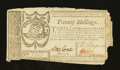 Colonial Notes:Georgia, Georgia October 16, 1786 20s Very Fine....