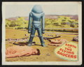"Movie Posters:Science Fiction, Earth vs. the Flying Saucers (Columbia, 1956). Lobby Cards (4) (11""X 14""). Science Fiction.. ... (Total: 4 Items)"