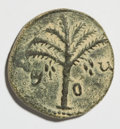 Ancients:Judaea, Ancients: Judaea. Bar Kochba Revolt. 132-135 C.E. AE 24 mm (10.9 g,6 h). Year 2 (133/4 C.E.)....
