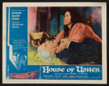 """Movie Posters:Horror, House of Usher (American International, 1960). Lobby Cards (6) (11"""" X 14""""). Horror.. ... (Total: 6 Items)"""