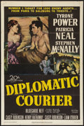 "Movie Posters:Drama, Diplomatic Courier (20th Century Fox, 1952). One Sheet (27"" X 41""). Drama.. ..."