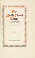 Books:Non-fiction, Arthur Griffiths. The World's Famous Prisons. London:Grolier Society, [ca. 1900]. Complete in twelve volumes. Limit...(Total: 12 Items)