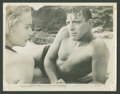 "Movie Posters:War, Burt Lancaster in ""From Here to Eternity"" (Columbia, 1953). Stills(5) (8"" X 10""). War.. ... (Total: 5 Items)"