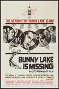 "Movie Posters:Mystery, Bunny Lake is Missing (Columbia, 1965). One Sheet (27"" X 41"").Mystery.. ..."