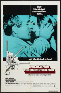 """The Mackintosh Man Lot (Warner Brothers, 1973). One Sheet (27"""" X 41"""") and Lobby Card (11"""" X 14""""). Th..."""