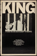 "Movie Posters:Documentary, King: A Filmed Record... Montgomery to Memphis (Maron Films, 1970).Poster (40"" X 60""). Documentary.. ..."