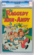 Golden Age (1938-1955):Humor, Four Color #306 Raggedy Ann and Andy (Dell, 1950) CGC VF+ 8.5 Off-white to white pages.