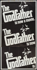 """Movie Posters:Crime, The Godfather (Paramount, 1972). Three Sheet (41"""" X 81""""). Crime....."""