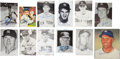 Autographs:Post Cards, New York Yankees Signed Photographs, And Postcards Lot of 15....