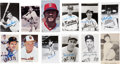 Autographs:Post Cards, Baseball Great Signed Postcards Lot Of 22. ...