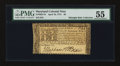 Colonial Notes:Maryland, Maryland April 10, 1774 $8 PMG About Uncirculated 55....