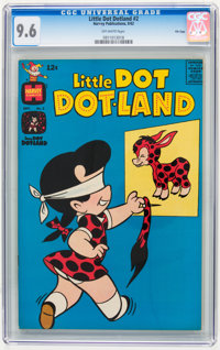 Little Dot Dotland #2 File Copy (Harvey, 1962) CGC NM+ 9.6 Off-white pages