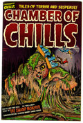 Golden Age (1938-1955):Horror, Chamber of Chills #12 File Copy (Harvey, 1952) Condition: VF.