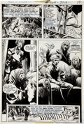 Original Comic Art:Panel Pages, Bernie Wrightson House of Mystery #204 page 9 Original Art(DC, 1972)....
