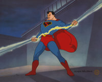 Superman Magnetic Telescope Limited Edition Cel #72/500 (Tooniversal Company, 1995)