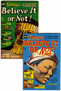 Golden Age (1938-1955):Non-Fiction, Ripley's Believe It or Not! #3 and 4 File Copy Group (Harvey, 1954)