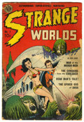 Golden Age (1938-1955):Science Fiction, Strange Worlds #1 (Avon, 1950) Condition: FR.
