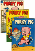 Golden Age (1938-1955):Cartoon Character, Porky Pig File Copies Group (Dell, 1953-58) Condition: Average VF+.