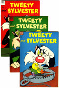 Golden Age (1938-1955):Cartoon Character, Tweety and Sylvester File Copies Group (Dell, 1954-58) Condition: Average VF.