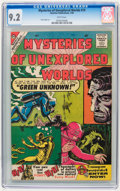 Silver Age (1956-1969):Adventure, Mysteries of Unexplored Worlds #19 (Charlton, 1960) CGC NM- 9.2 White pages.