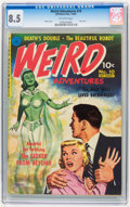 Golden Age (1938-1955):Horror, Weird Adventures #10 (Ziff-Davis, 1951) CGC VF+ 8.5 Off-whitepages.