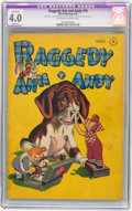 Golden Age (1938-1955):Cartoon Character, Raggedy Ann and Andy #15 (Dell, 1947) CGC Apparent VG 4.0 Slight(A) Off-white to white pages.