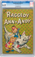 Golden Age (1938-1955):Cartoon Character, Raggedy Ann and Andy #5 (Dell, 1946) CGC FN 6.0 Cream to off-whitepages.