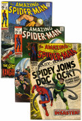 Silver Age (1956-1969):Superhero, The Amazing Spider-Man Group (Marvel, 1968-70) Condition: Average FN/VF.