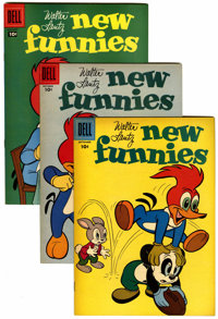 New Funnies File Copies Group (Dell, 1957-62) Condition: Average VF/NM