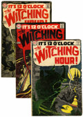 Silver Age (1956-1969):Horror, The Witching Hour Group (DC, 1969-76) Condition: Average VG/FN.