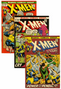 Bronze Age (1970-1979):Superhero, X-Men Group (Marvel, 1971-74) Condition: Average VF/NM.