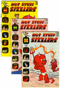 Silver Age (1956-1969):Humor, Hot Stuff Sizzlers #2-59 File Copies Group (Harvey, 1960-74) Condition: Average VF/NM.