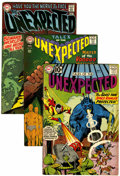 Silver Age (1956-1969):Horror, Tales of the Unexpected and Unexpected Short Box Group (DC,1950s-70s) Condition: Average VG.