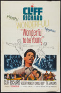 """Movie Posters:Rock and Roll, Wonderful To Be Young (Paramount, 1962). One Sheet (27"""" X 41"""").Rock and Roll.. ..."""
