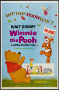 "Movie Posters:Animated, Winnie the Pooh and the Blustery Day (Buena Vista, 1969). One Sheet (27"" X 41""). Animated.. ..."