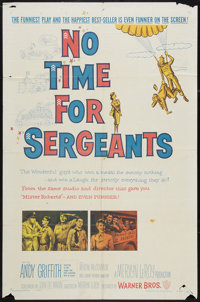 """No Time for Sergeants (Warner Brothers, 1958). One Sheet (27"""" X 41""""). Comedy"""
