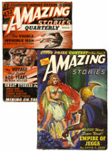 Pulps:Science Fiction, Amazing Stories Group (Ziff-Davis, 1941-43) Condition: Average VG.