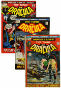 Bronze Age (1970-1979):Horror, Tomb of Dracula Group (Marvel, 1972-74) Condition: Average VG/FN.