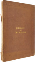 Books:Non-fiction, William Cornwallis Harris. Illustrations of the Highlands of Æthiopia. London: Dickinson and Son, [1844].. Fol...