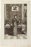 Antiques:Posters & Prints, Athanasius Kircher. Eight Early Engraved Plates Featuring theMysteries of China. 8.5 x 14.25 inches. All examples in very ...(Total: 8 Items)