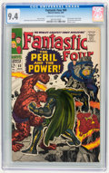 Silver Age (1956-1969):Superhero, Fantastic Four #60 (Marvel, 1967) CGC NM 9.4 Off-white to white pages.