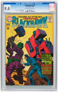 Blackhawk #239 (DC, 1968) CGC NM 9.4 Off-white to white pages
