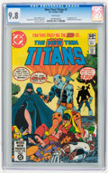 Modern Age (1980-Present):Superhero, New Teen Titans #2 (DC, 1980) CGC NM/MT 9.8 White pages.
