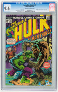 Bronze Age (1970-1979):Superhero, The Incredible Hulk #197 (Marvel, 1976) CGC NM+ 9.6 Off-white to white pages.