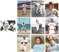Autographs:Index Cards, Baseball Hall of Famers Signed Photograph Lot of 10.... (Total: 10items)