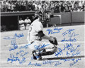 Autographs:Photos, 1978 New York Yankees Team-Signed Photo....