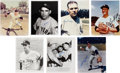 Autographs:Photos, New York Yankees Hall of Famers Signed Photographs Lot of 7.... (Total: 7 items)