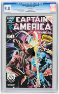 Modern Age (1980-Present):Superhero, Captain America Annual #8 (Marvel, 1986) CGC NM/MT 9.8 White pages.